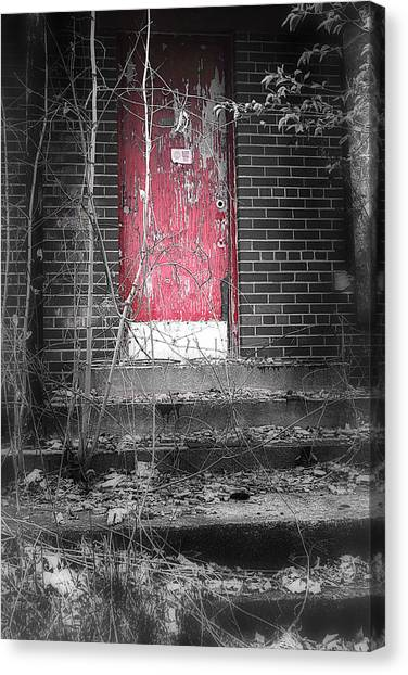 Abandoned School Canvas Print - Clark School 9 by Scott Hovind