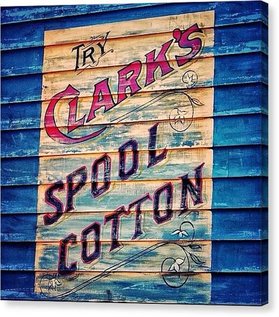 Miami Canvas Print - Clark's Spool Cotton - Fl by Joel Lopez