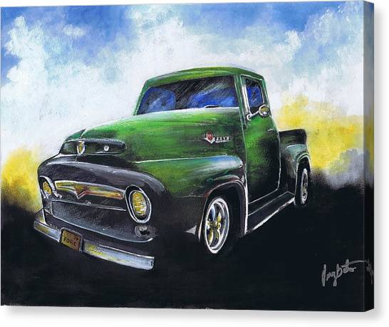 Classic 56 Ford Truck Canvas Print