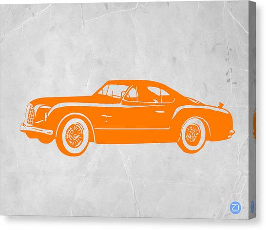 Beetle Canvas Print - Classic Car 2 by Naxart Studio