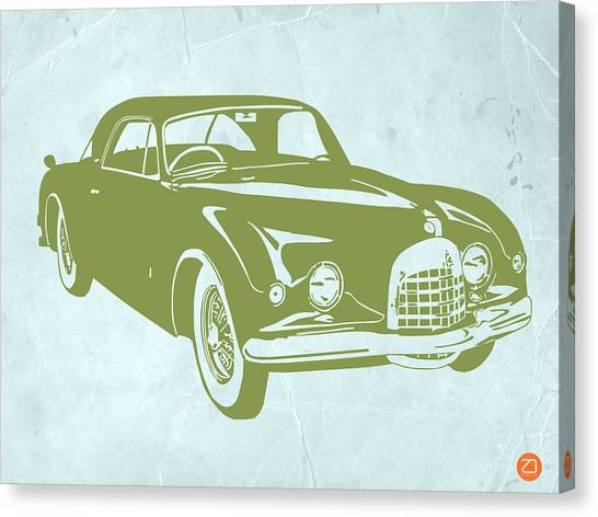 Muscle Cars Canvas Print - Classic Car by Naxart Studio