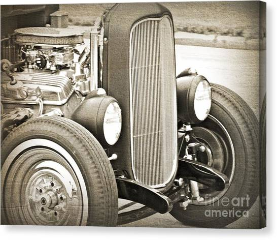 Classic Ford Canvas Print by Emily Kelley
