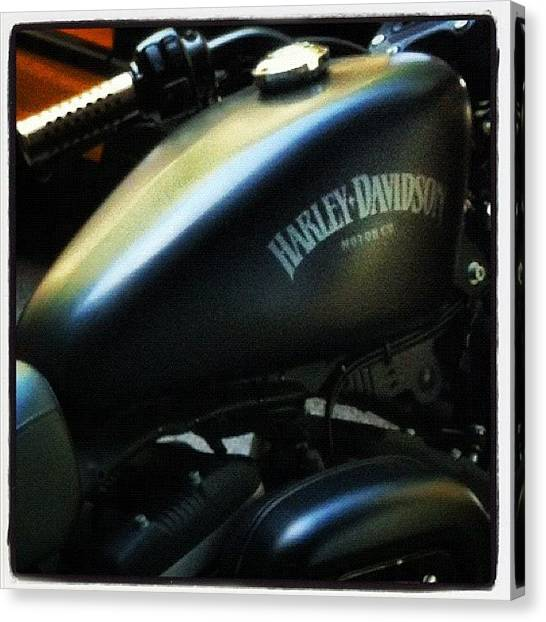 Harley Davidson Canvas Print - Classic  Icon by Rich Butler