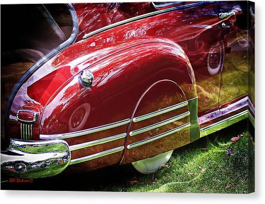 Classic Pontiac Canvas Print by SM Shahrokni