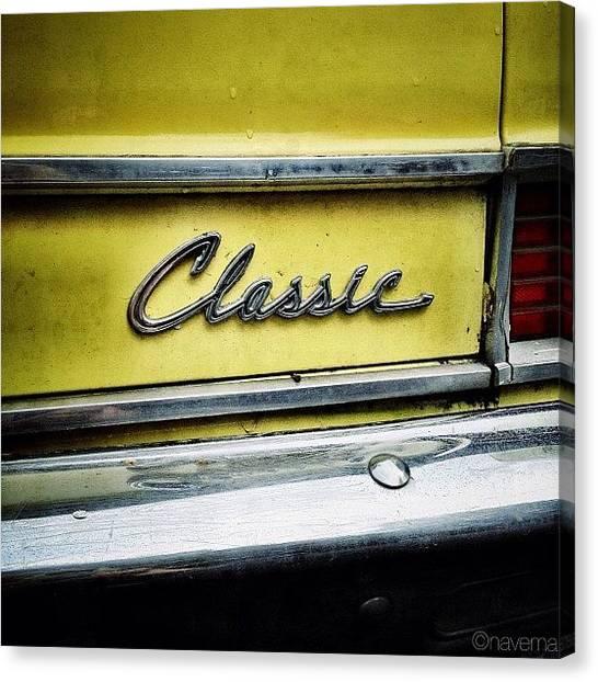 Autos Canvas Print - Classic Rambler by Natasha Marco