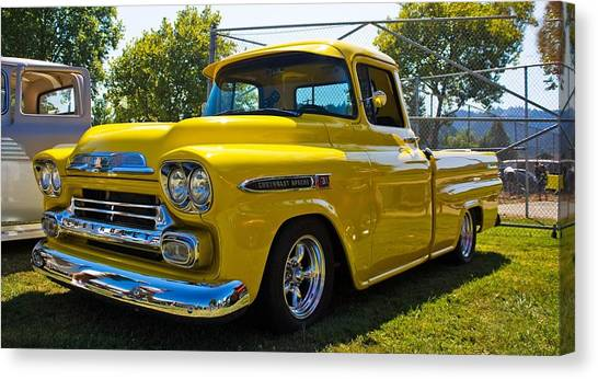 Classic Shine Canvas Print