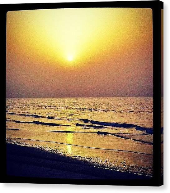 Ocean Sunsets Canvas Print - Classic Sunset by Soda Love
