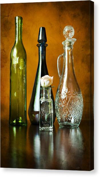 Classy Glass Canvas Print by Peter Chilelli