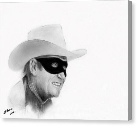 Van Goughs Ear Canvas Print - Clayton Moore by Arne Hansen