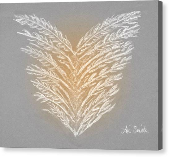 Clean Heart Version 2 Canvas Print by Ani Todd Smith