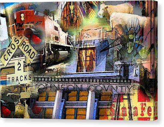 Cleburne  Texas Canvas Print by David Carter
