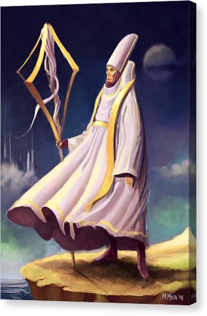 Cleric Canvas Print
