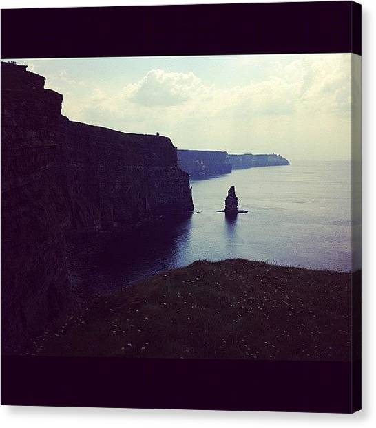 Ireland Canvas Print - Cliffs Of Moher by Emily Alvarez