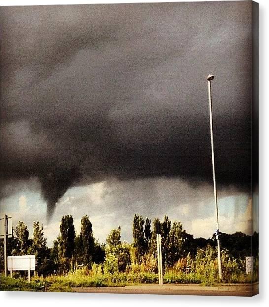 Tornadoes Canvas Print - #cloudporn #twister #tornado by Samantha J