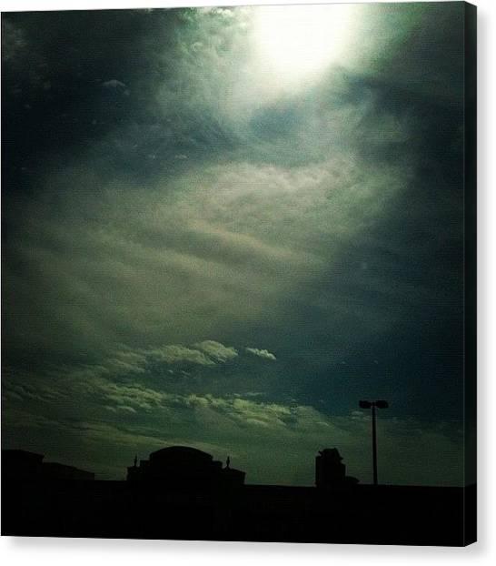 Big Sky Canvas Print - #clouds #cloudporn #beautiful by Seth Stringer