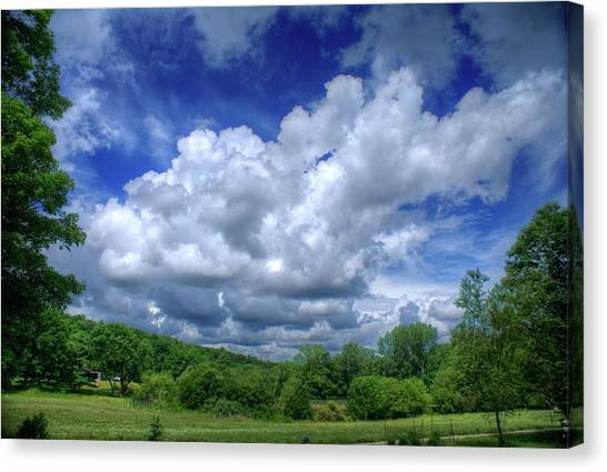 Clouds Canvas Print by Matthew Green
