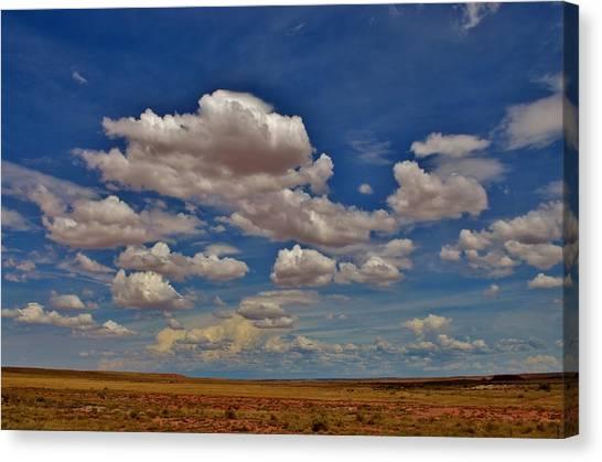 Clouds Canvas Print by Sara Edens