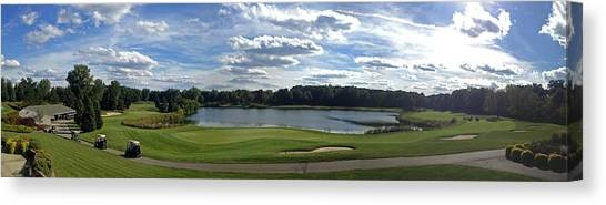 Club House Panorama Canvas Print