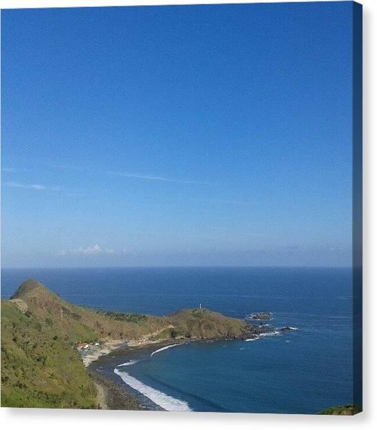 Liquor Canvas Print - Coast #blue #sea #beach #landscape by Gin Zhao Yun