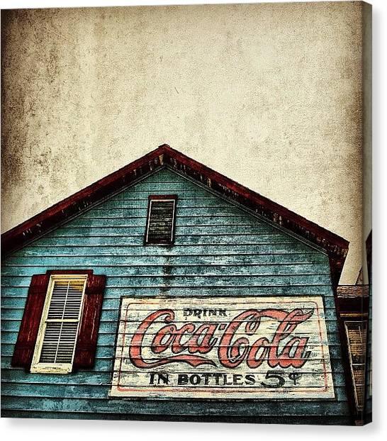Soda Canvas Print - Coca Cola - Fl by Joel Lopez