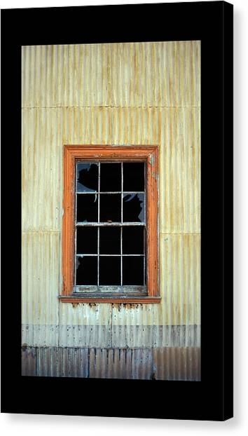 Cocina Window Border 2 Canvas Print