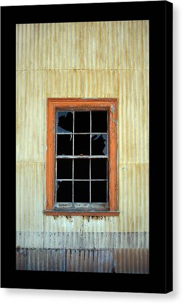 Cocina Window Border Canvas Print