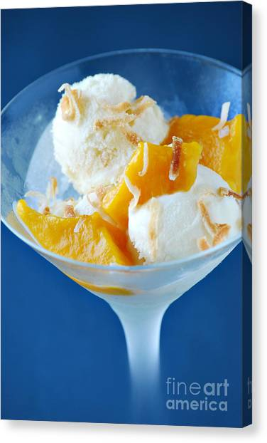 Mangos Canvas Print - Coconut Gelato by HD Connelly