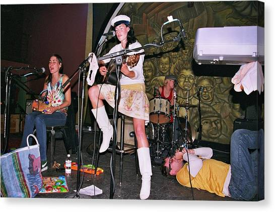 Cocorosie With Dave Sitek Canvas Print