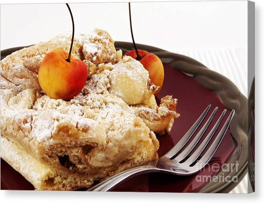Brunch Canvas Print - Coffee Cake by Blink Images