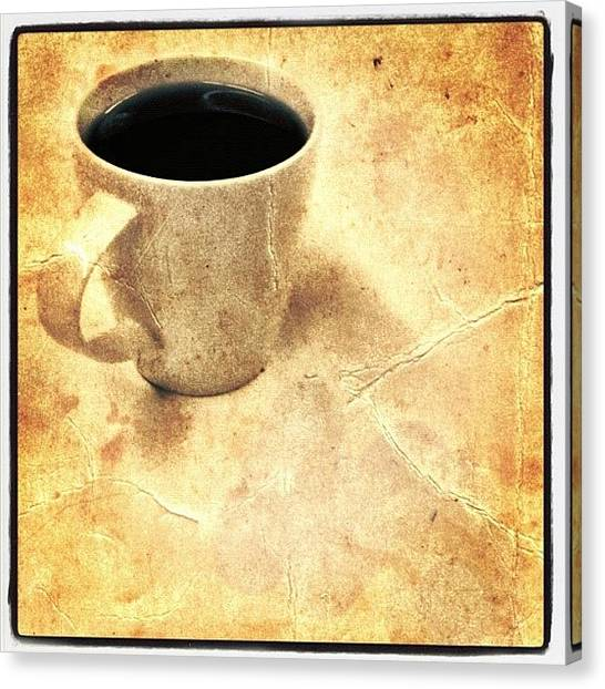 Tea Canvas Print - Coffee by Christopher Campbell