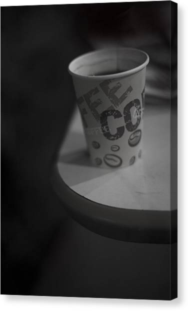 Coffee To Go Canvas Print by Tal Richter