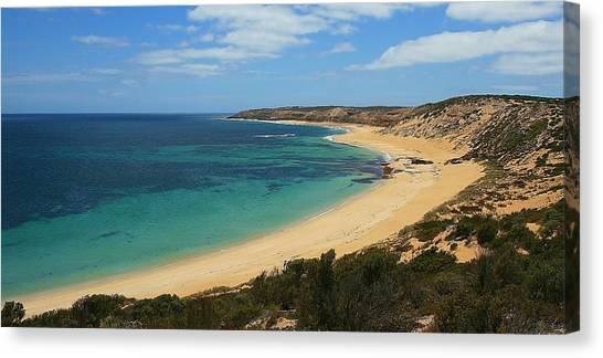 Coffin Bay Np 04 Canvas Print by David Barringhaus