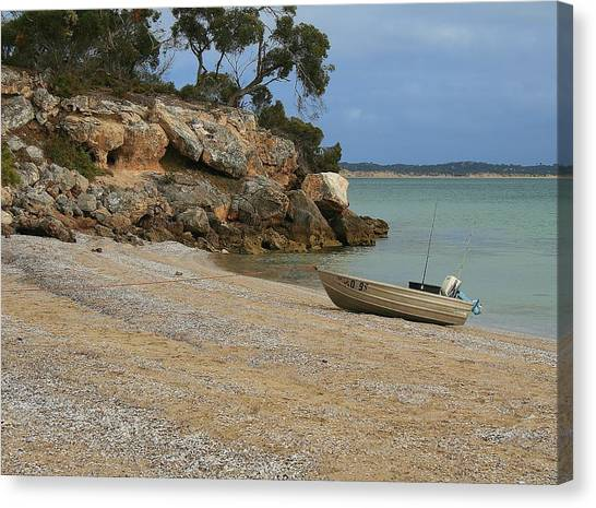 Coffin Bay Np Canvas Print by David Barringhaus
