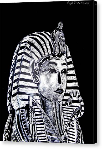 Coffin Of The King Canvas Print