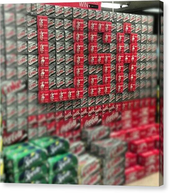 Sprite Canvas Print - #coke #sprite #dietcoke #pop #usa by Matt Guzik