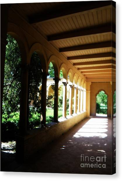 Colonnade  3 Canvas Print by Tanya  Searcy