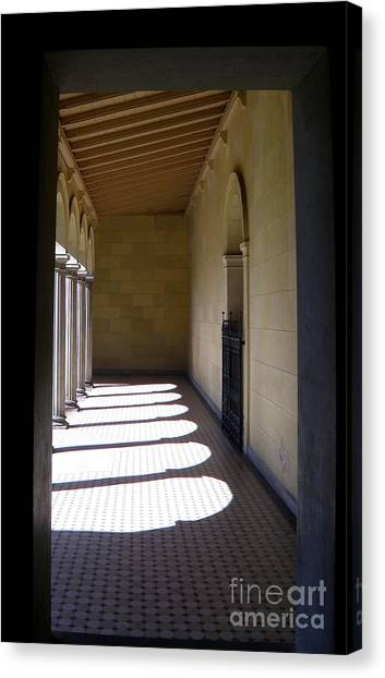Colonnade  4 Canvas Print by Tanya  Searcy