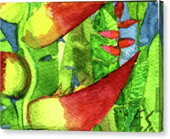 Color In The Jungle Canvas Print