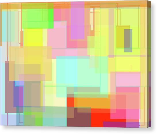 Color Symphony Canvas Print by Naomi Jacobs