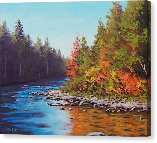 Colorado River Canvas Print - Colorado River by Graham Gercken