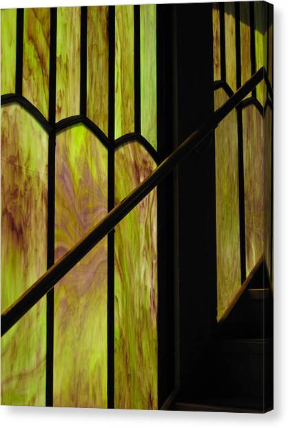 Colored Glass Canvas Print