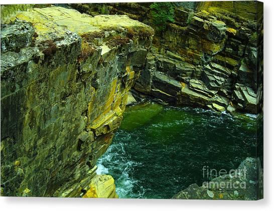 Yaks Canvas Print - Colored Rocks  by Jeff Swan