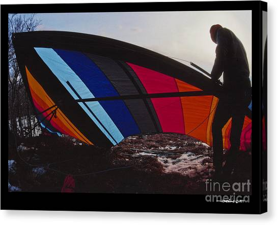 Colorful Kite Canvas Print