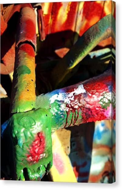 Colorful  Canvas Print by Malania Hammer