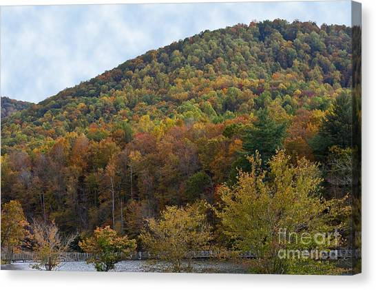 Colorful Mountain Canvas Print