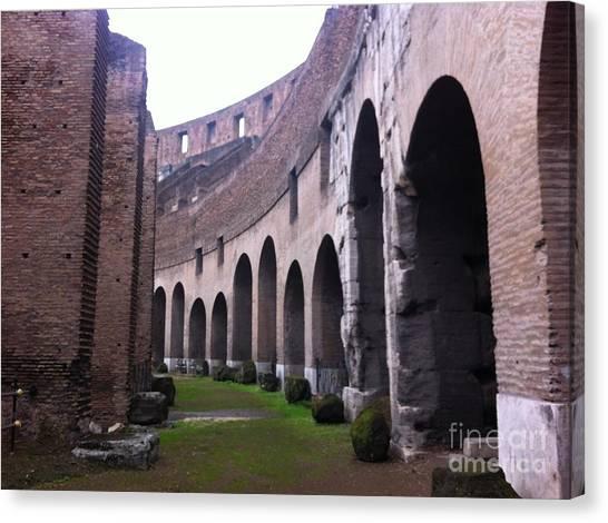 Colosseum Vomitorium Canvas Print by Richard Chapman