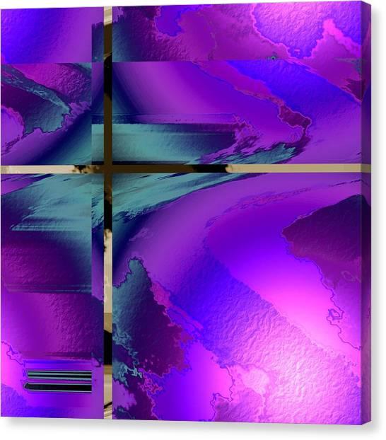 Colour Blitz IIi Canvas Print