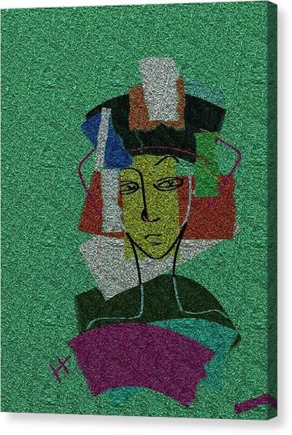 Colours Of My Woman Canvas Print by Hayrettin Karaerkek