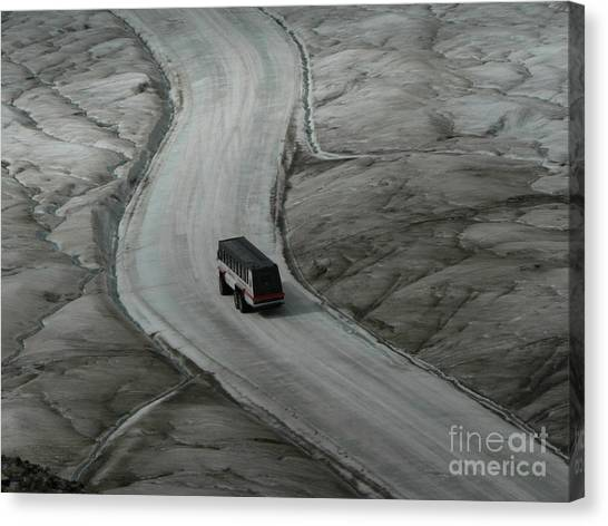 Columbia Icefield Glacier Adventure Canvas Print