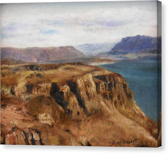 Columbia River Gorge I Canvas Print